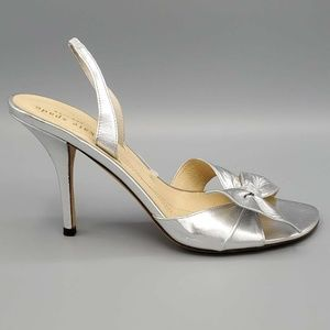 Kate Spade New York Womens Slingback Bow Sandals